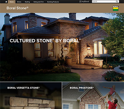 Cultured Stone showroom