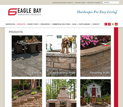 Eagle Bay website